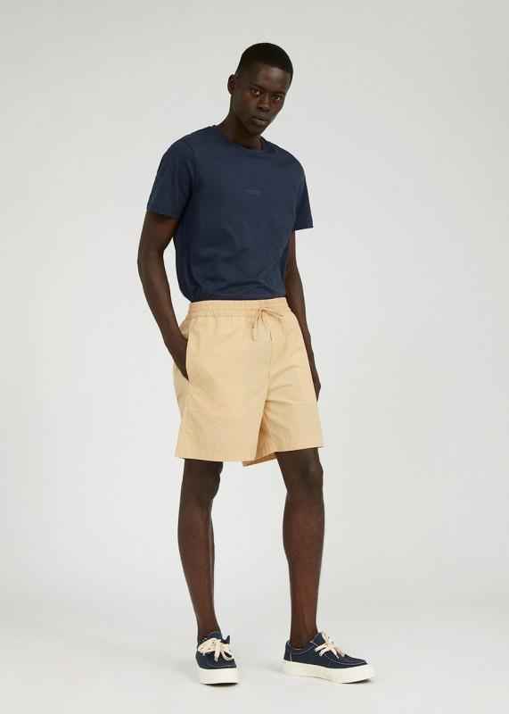 MAAGNUS Shorts aus Biobaumwolle, dark sand