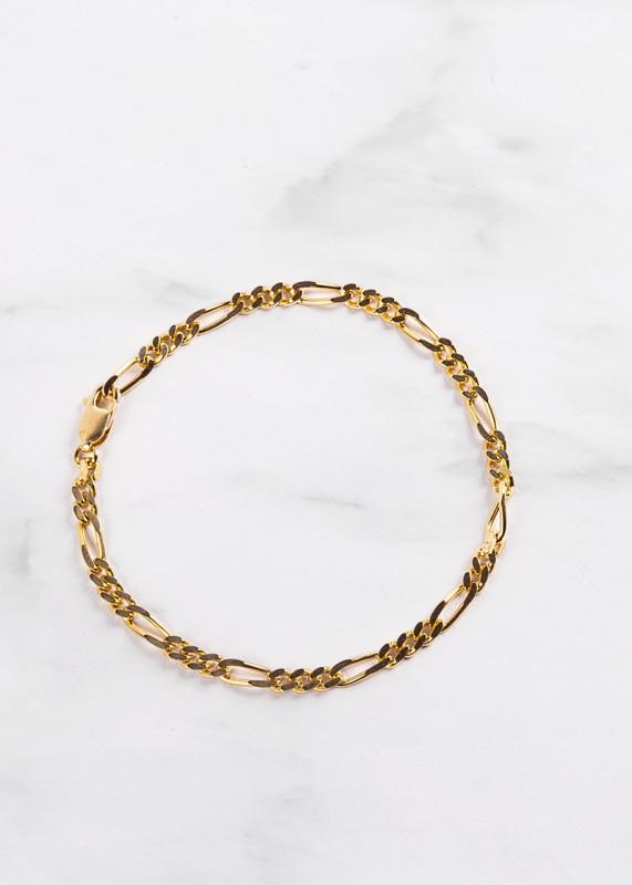 Armband Figaro Chain - vergoldet