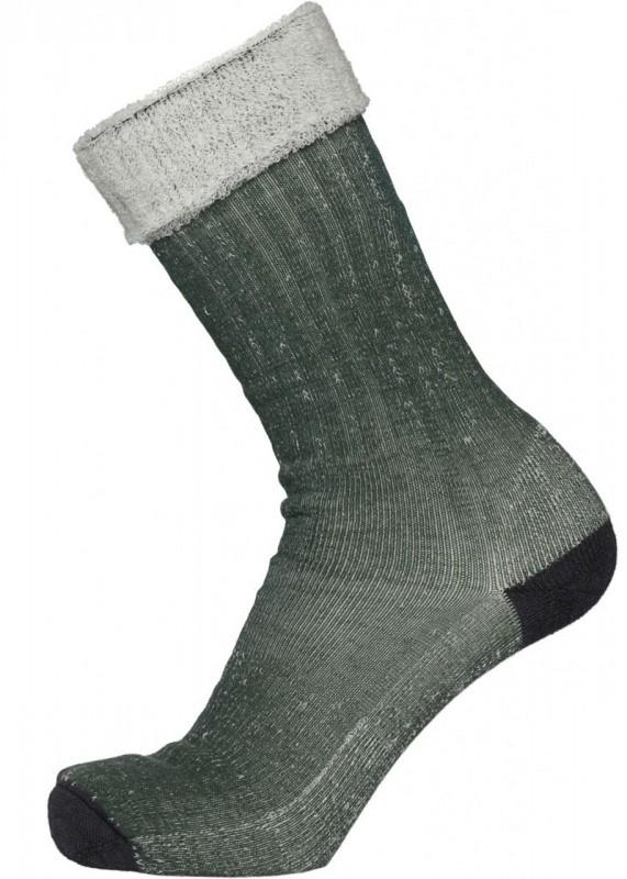 1 Pack Low Classic Wool Socks, green