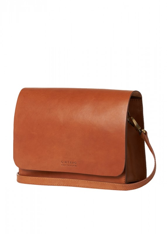 O My Bag Tasche Audrey cognac classic leather