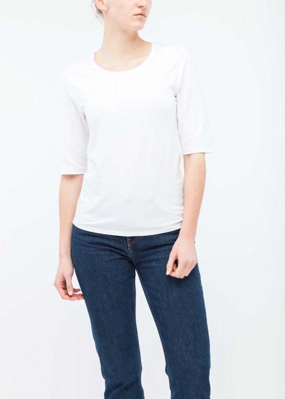 Funktionsschnitt Shirt Ease weiß
