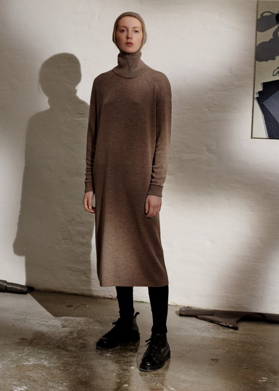 Knit Dress, beige melange