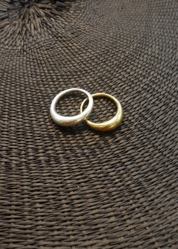 Ombre Claire Ring Ceuf Silber