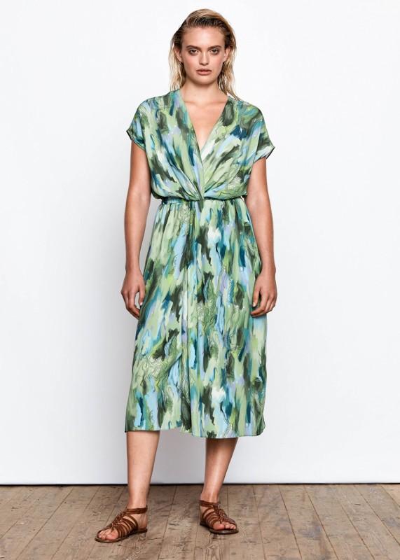 Maska Nila Printed Dress