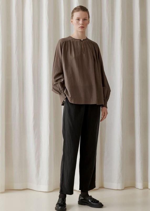 Chantal Blouse light brown