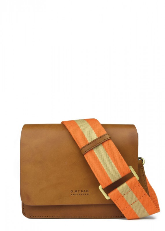 O My Bag Tasche Audrey Mini cognac classic leather