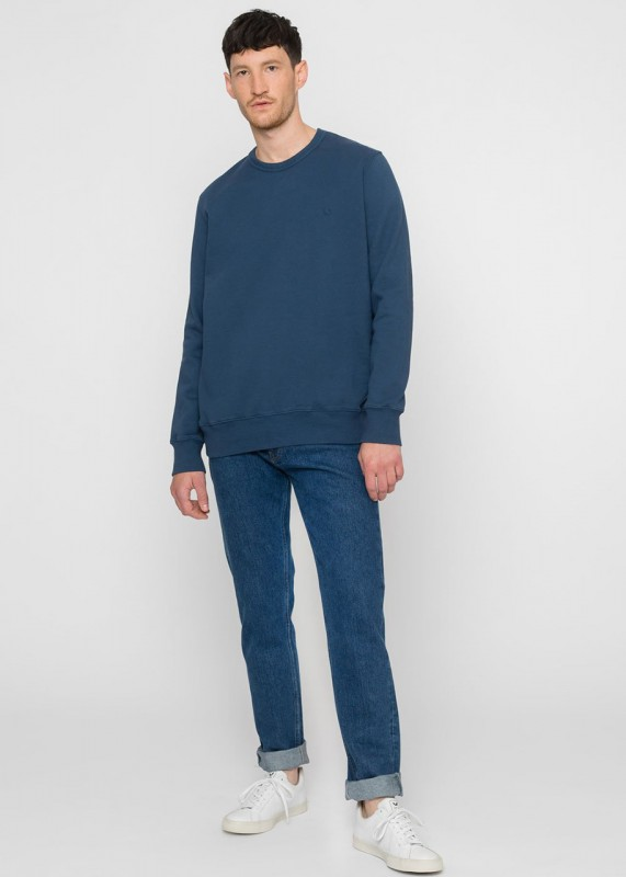 Rotholz Rights Bio Sweatshirt, Blau