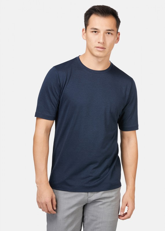 Funktionschnitt Shirt ICONIC navy