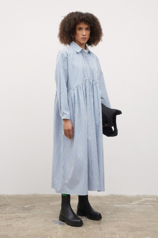 Kowtow Phoebe Dress, Stripe