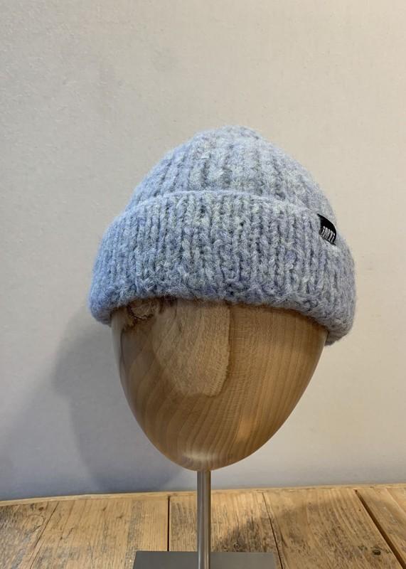 Soft Mütze aus Baby Alpaka,aqua