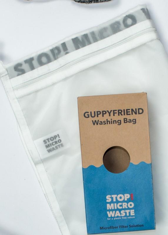 Guppyfriend Langbrett Wäschesack gegen Mikroplastik