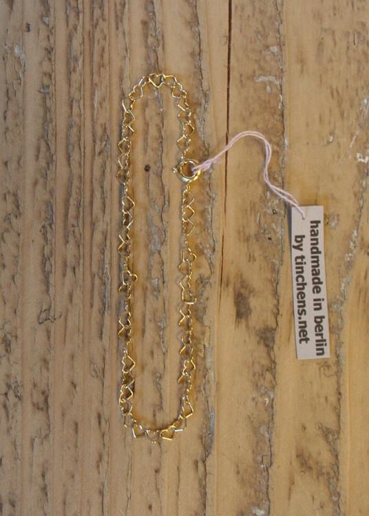 tinchens /Armkettchen vergoldet