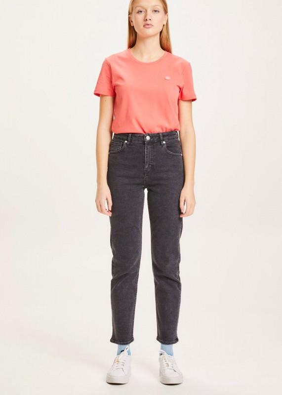 Mom Jeans IRIS Biobaumwolle Rinse black