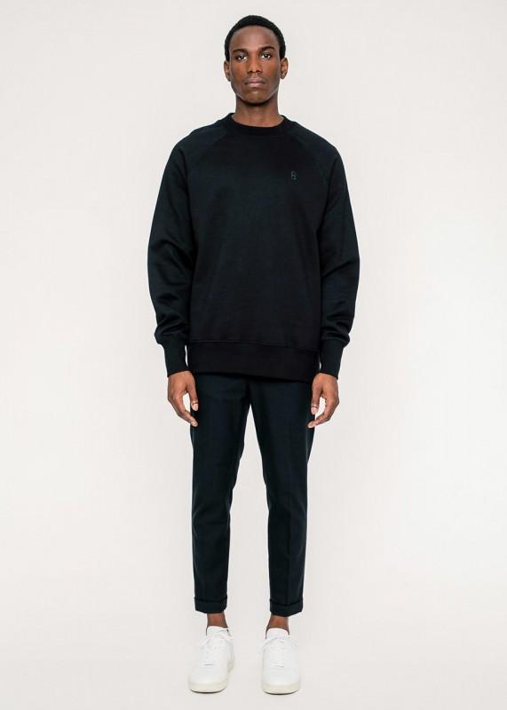 Rotholz Logo Sweatshirt schwarz