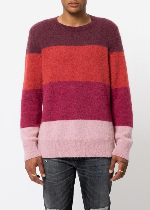 Nudie Jeans Strickpulli Hampus Tonal Stripe Multi