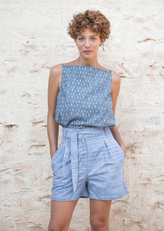 Jyoti Fair Works Shorts Smita hellblau