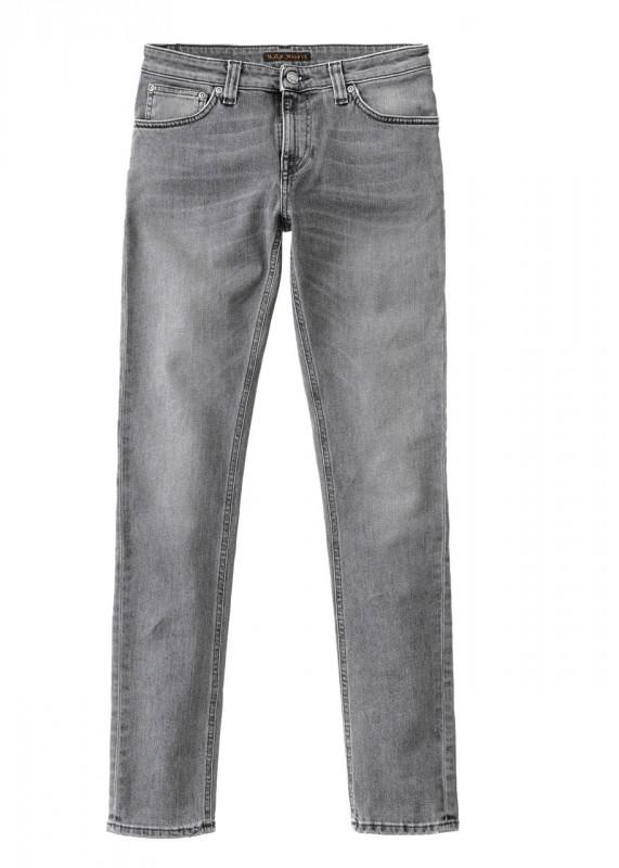 Nudie Jeans Skinny Lin grey wolf