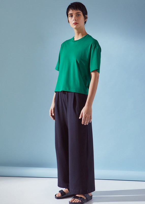 Kowtow Boxy Tee evergreen