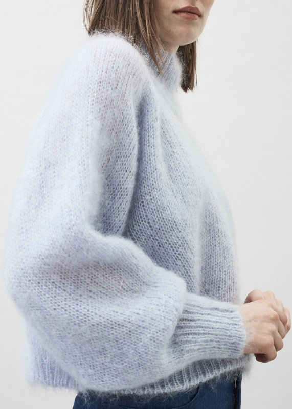 FAYE - Chunky silk mohair sweater