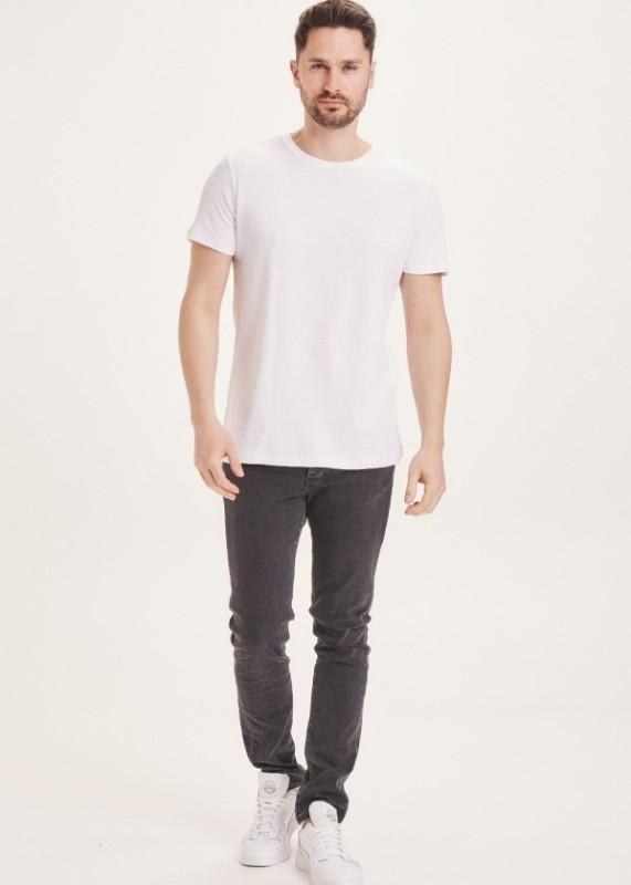 ASH tapered slim fit jeans rinse black