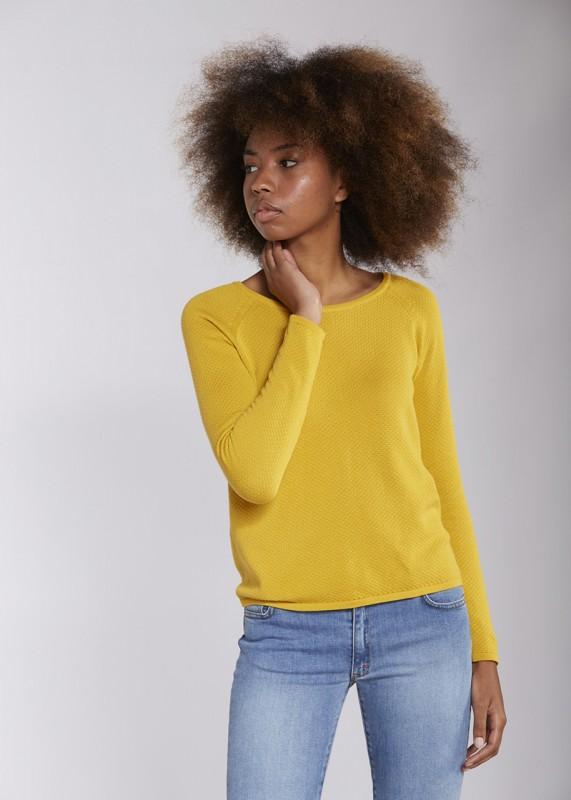 Les Racines Du Ciel Bubble round neck sweater