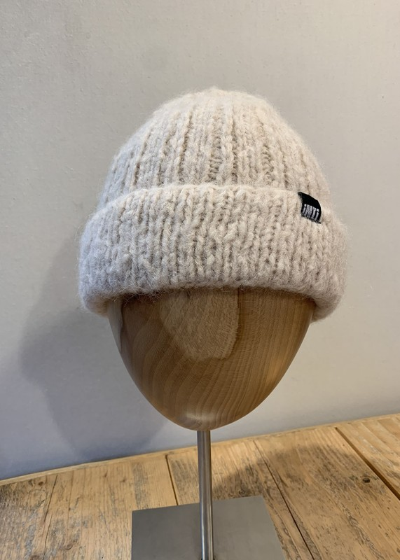 Soft Mütze aus Baby Alpaka, marfil