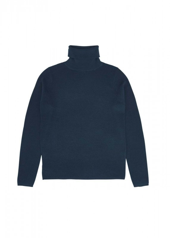 Fub Rollneck Pullover, Petrol