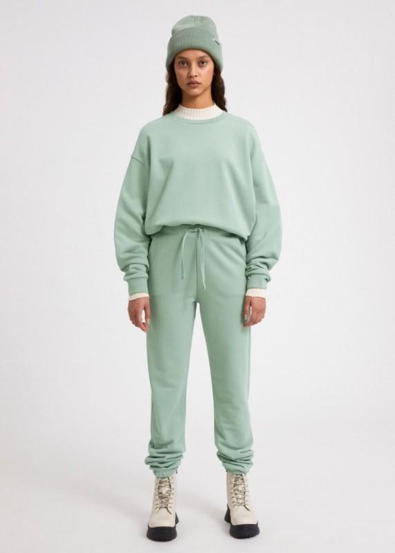 AARIN Sweatshirt aus Biobaumwolle, sage green